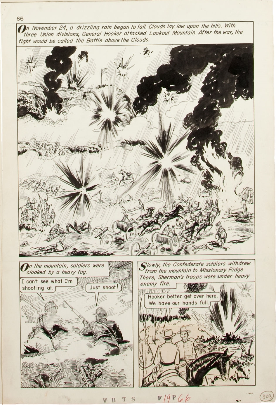 Ashe, Edd - Classics Illustrated Special Issue #162 A (The War Between The States) page 66