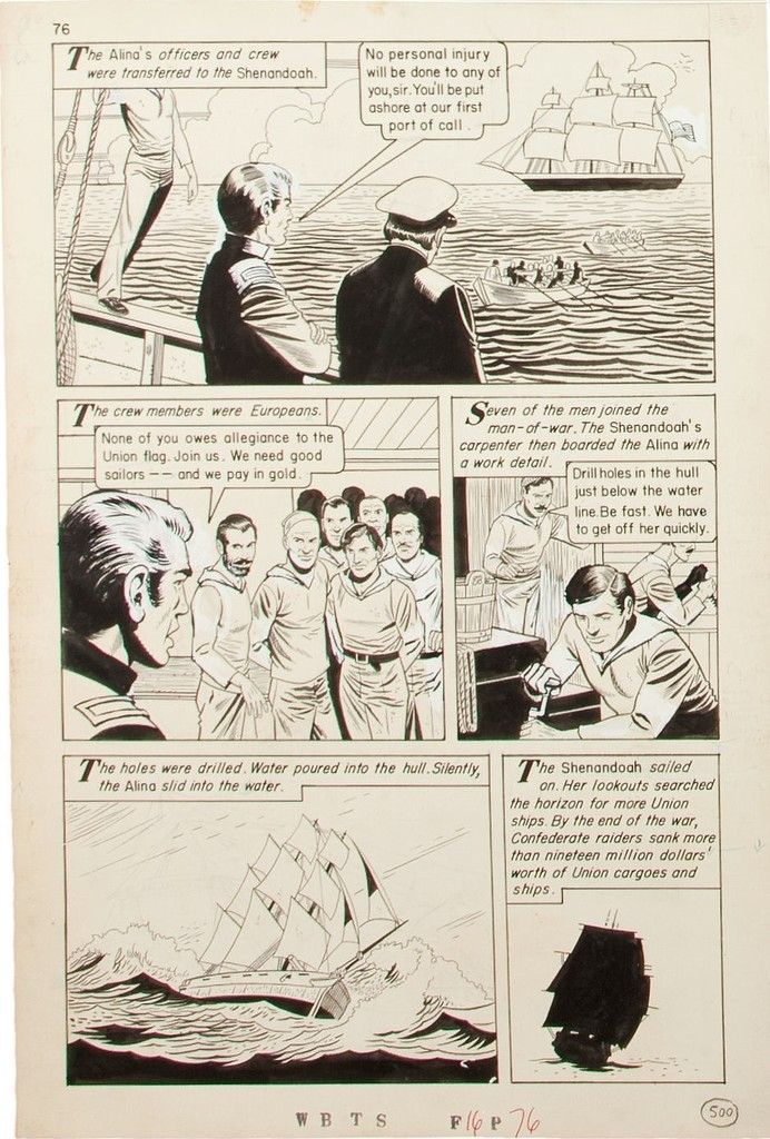 Morisi, Pete - Classics Illustrated Special Issue #162 A (The War Between The States) page 76