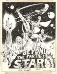 Cockrum, Dave - Beyond the Farthest Star unused fanzine cover